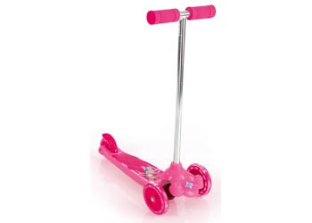 Eurotrike Twist and Roll Tri Scooter Pink