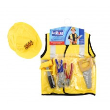 Construction Worker Vest with Tools