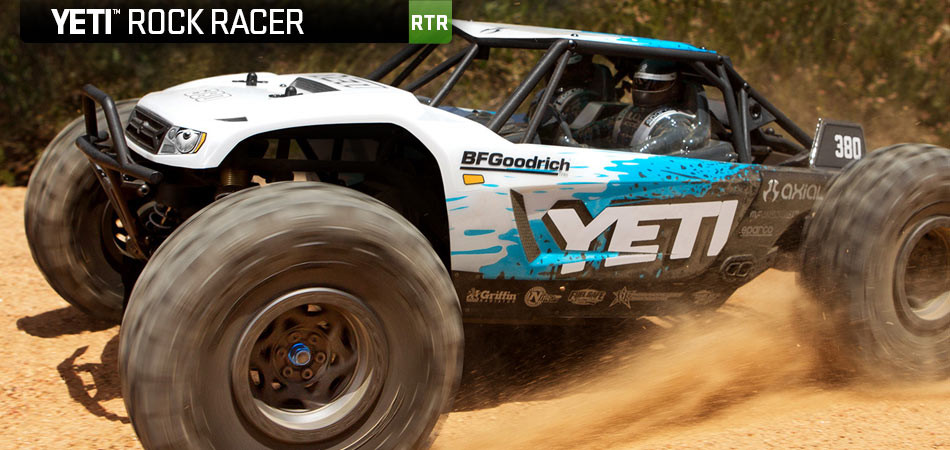 Axial Yeti 1/10 4x4 RTR Brushless