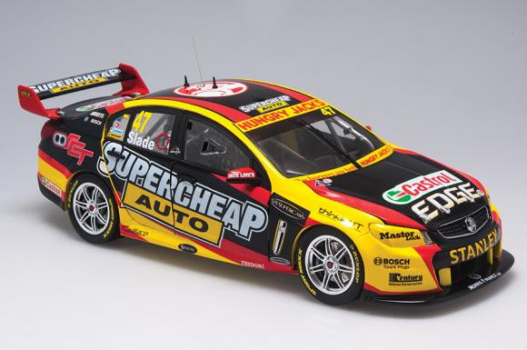 Biante 1:18 Holden VF Commodore #47 Tim Slade Supercheap Auto Racing V8 Supercar 2014