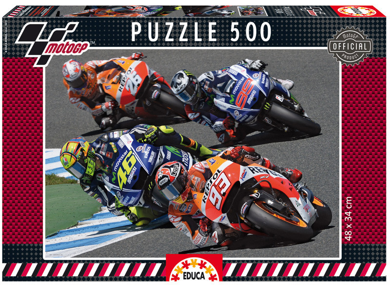 Educa Moto GP 500 Pc Puzzle