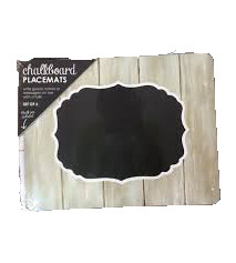 Chalkboard Placemat Set of 6