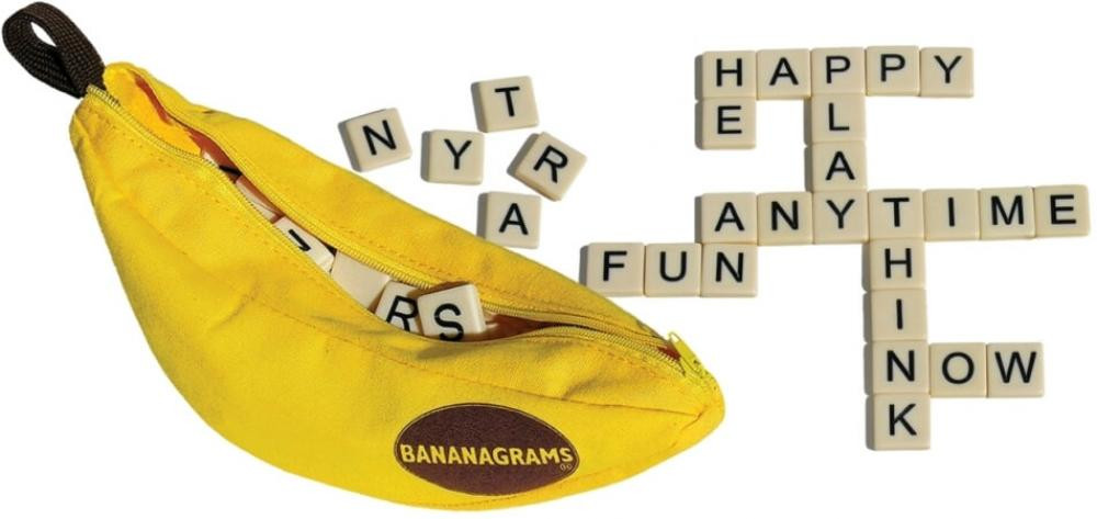 Bananagrams with Pop