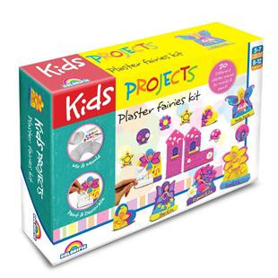 Kids Projects Plaster Faries Kit