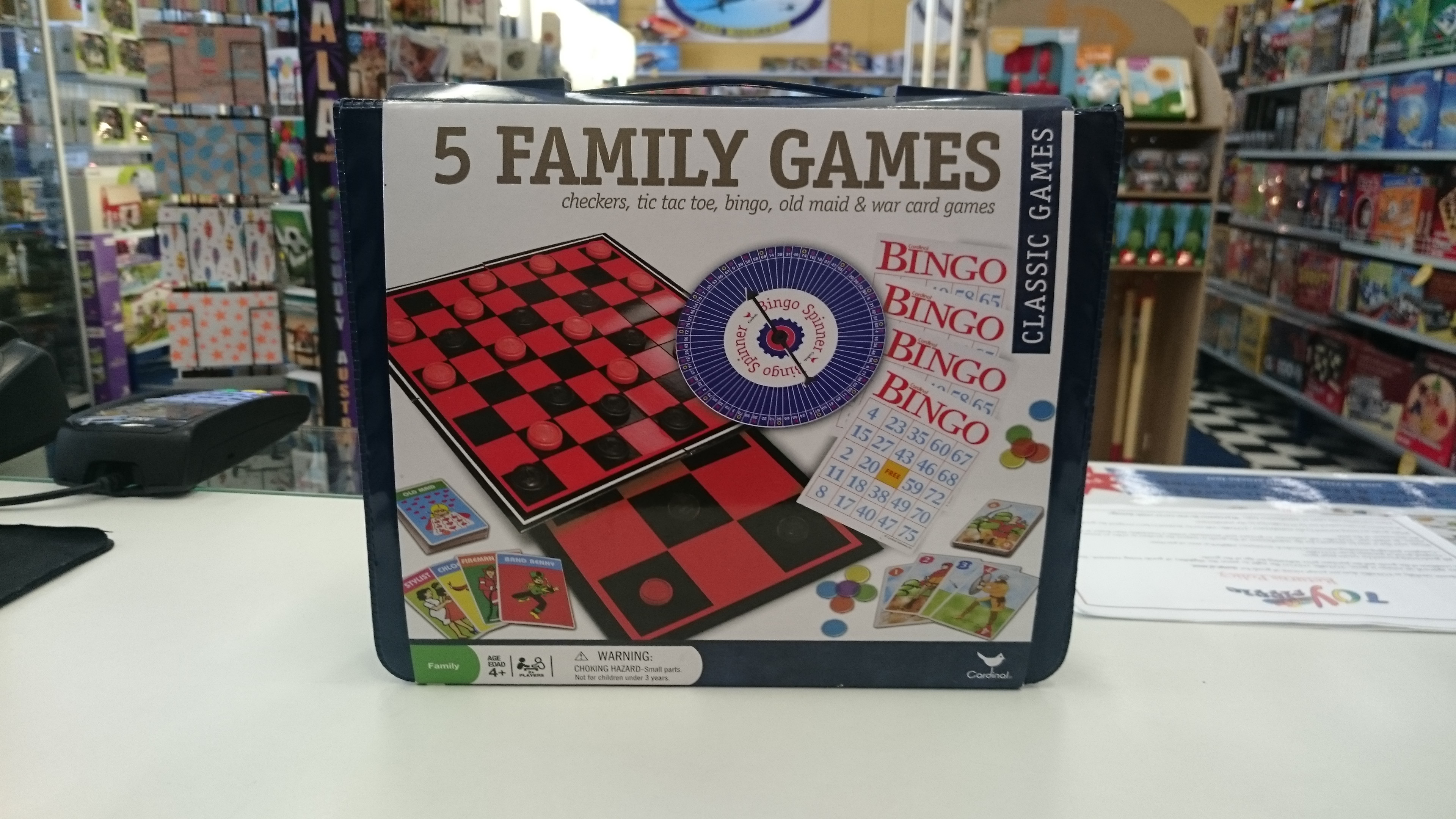 5 Family Games