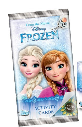 Frozen Activity Trading Cards
