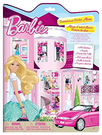 Barbie Dreamhouse Sticker Album