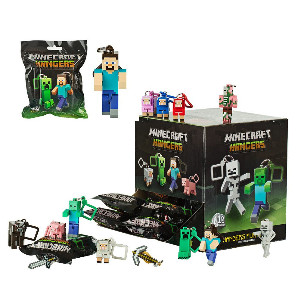 Minecraft Hanger Foil Bag Assortment