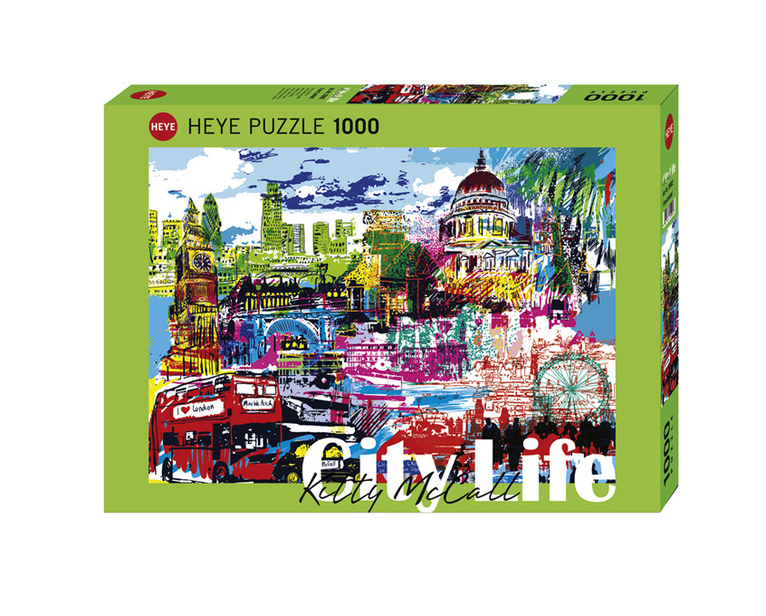 Heye City Life - I Love London 1000pc