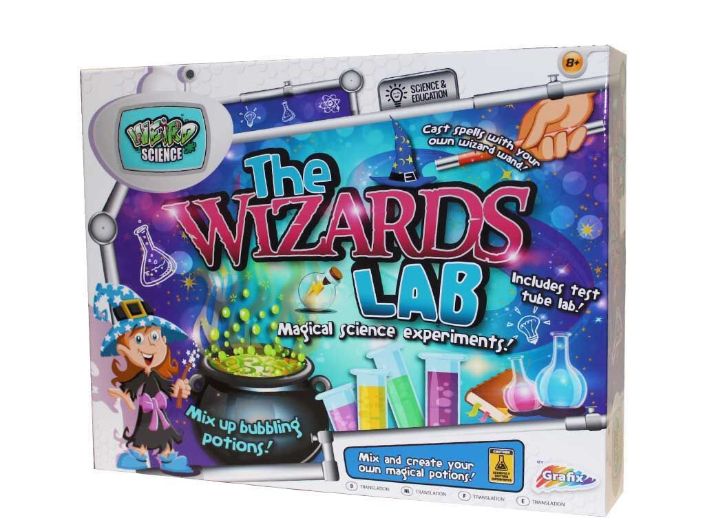 science wizards lab by - photo #12