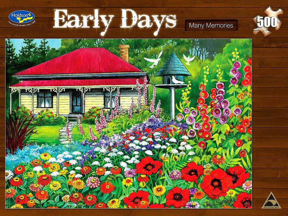 Early Days Many Memories 500pc