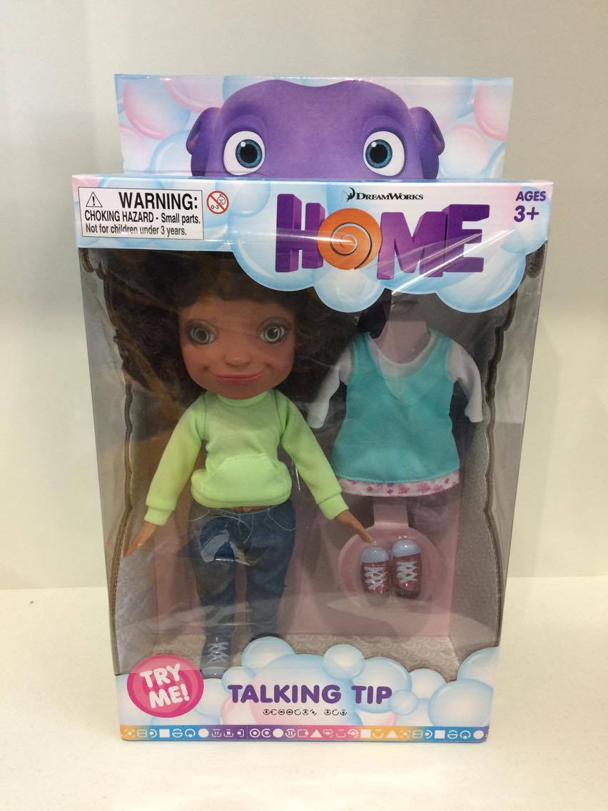 HOME 11 Inch Talking Tip Doll with Sound and Outfit