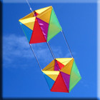 Windspeed Box Single String Kite- 1000x500mm