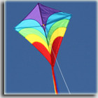 Windspeed Waves Diamond Single String Kite- 790x740mm