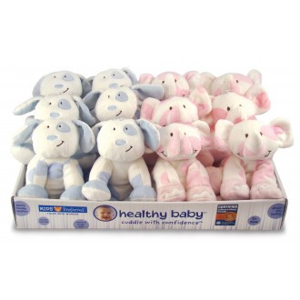 Healthy-Baby-Animal-Beanbags-Blue-Puppy/Pink-Elephant-Soft-Toy