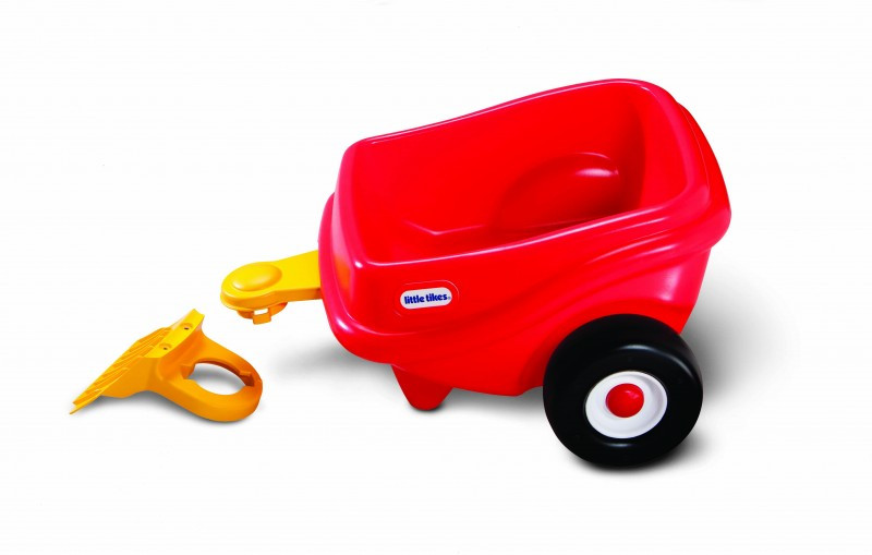 Little Tikes Cozy Trailer Red