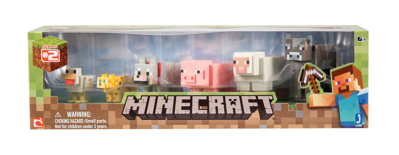 Minecraft Core Animal 6 pack