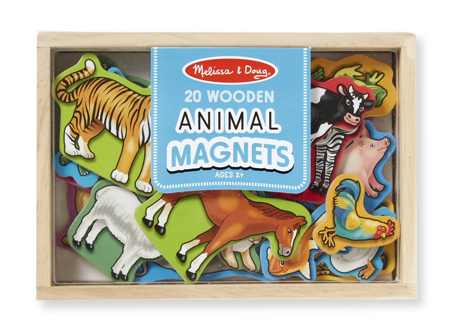 M&D - Animal Magnets - 20pc