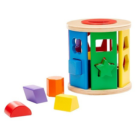 Melissa & Doug - Shape Sorting Drum