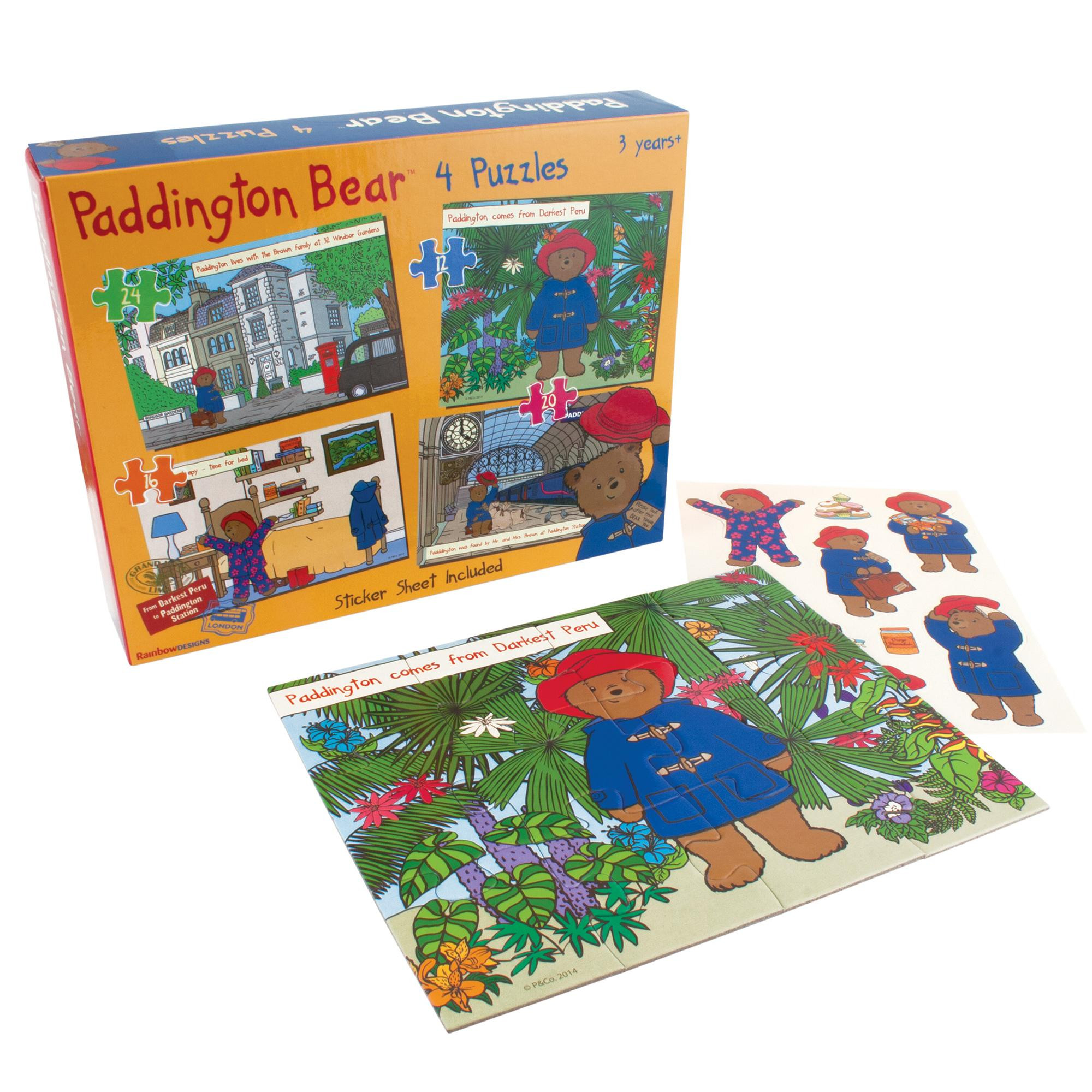 Paddington 4-in-a-Box Puzzles