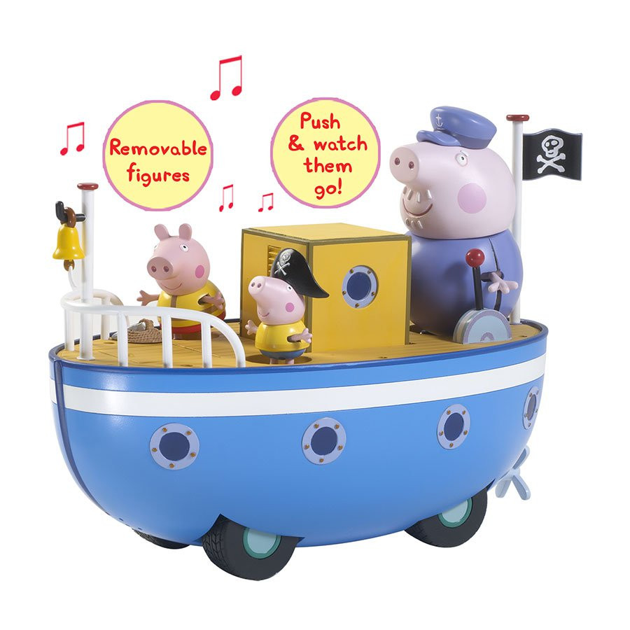 Peppa Pig Boat & Figure Set