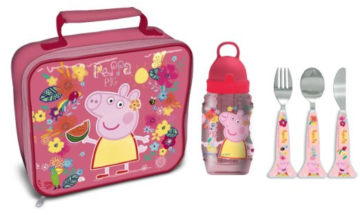 Peppa Pig Tropical Lunch Bag Rectangle