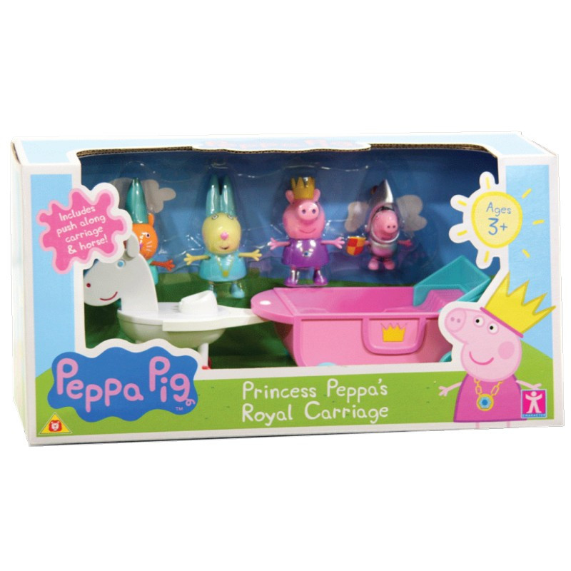 Peppa-Princess-Royal-Carriage-Set