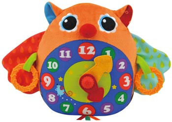 Ks Kids Day N Night Owl Clock