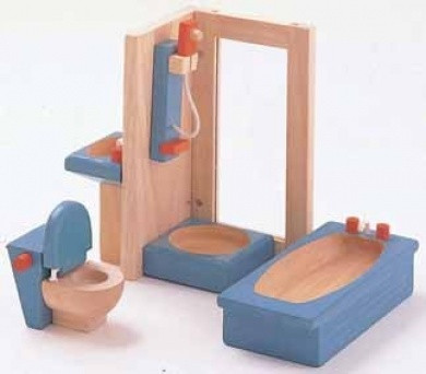 Plan Toys Bathroom Furniture Neo 5pcs
