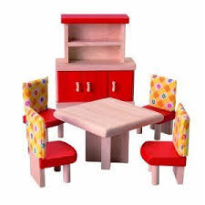 Plan Toys Dining Room Furniture Neo 6pcs