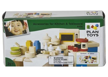 Plan Toys Kitchen & Tableware 26pcs