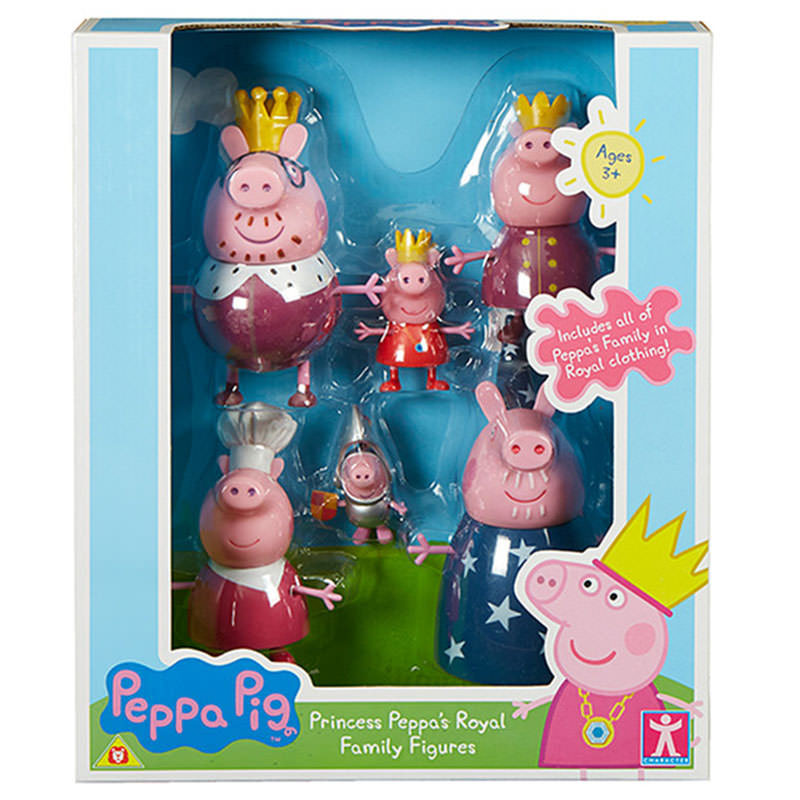 Peppa-Princess-Royal-Family-Figures
