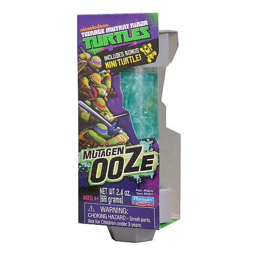 TMNT Mutagen Ooze Canister with Turtle