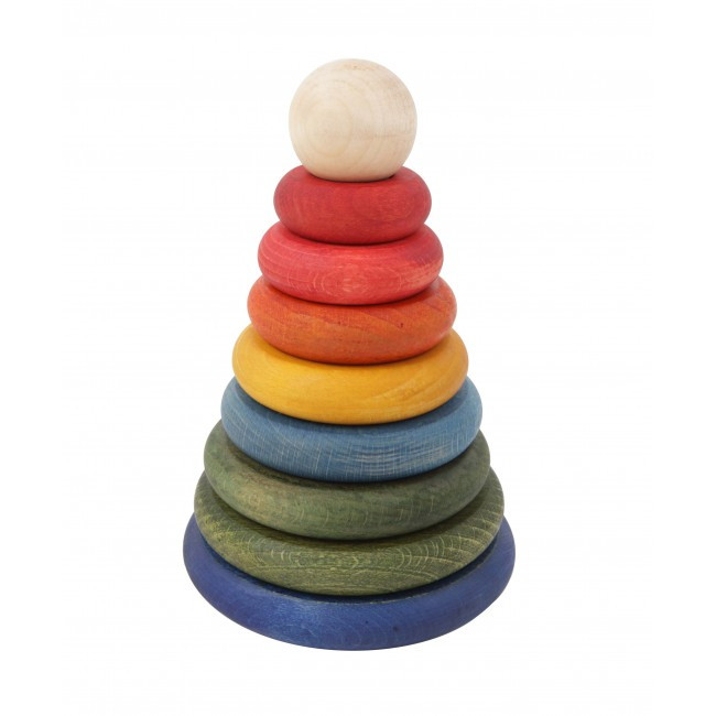 Wooden-Story-(Rainbow)-Round-Stacker