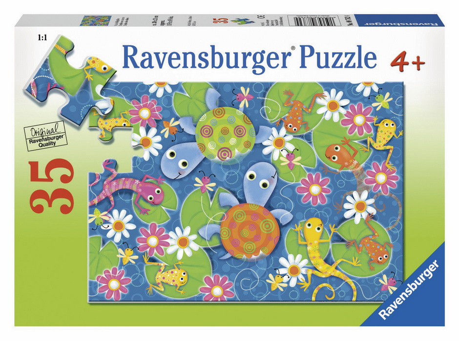 Ravensburger Colourful Reptiles Puzzle 35pc