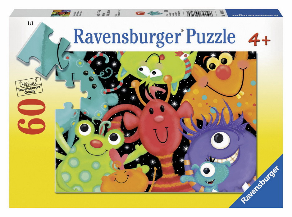 Ravensburger - Monster Buddies Puzzle 60pc