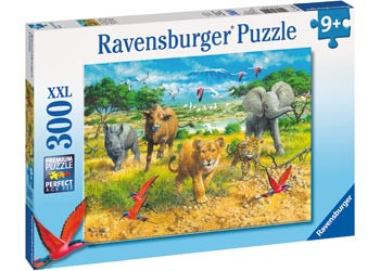 Ravensburger - African Animal Babies Puzzle 300pc