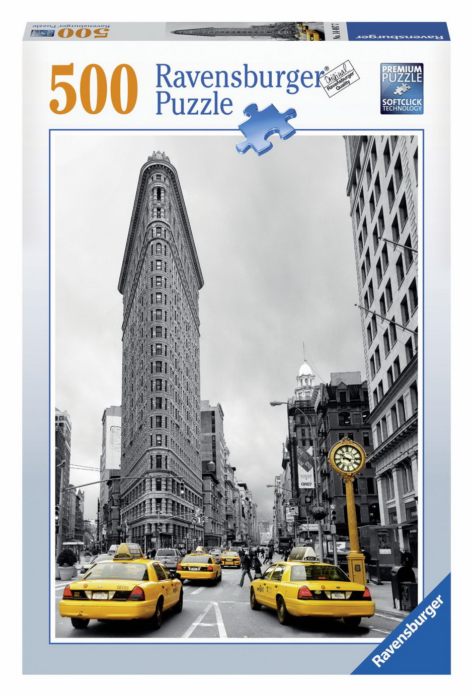 Ravensburger Flat Iron Building New York Puzzle 500pc
