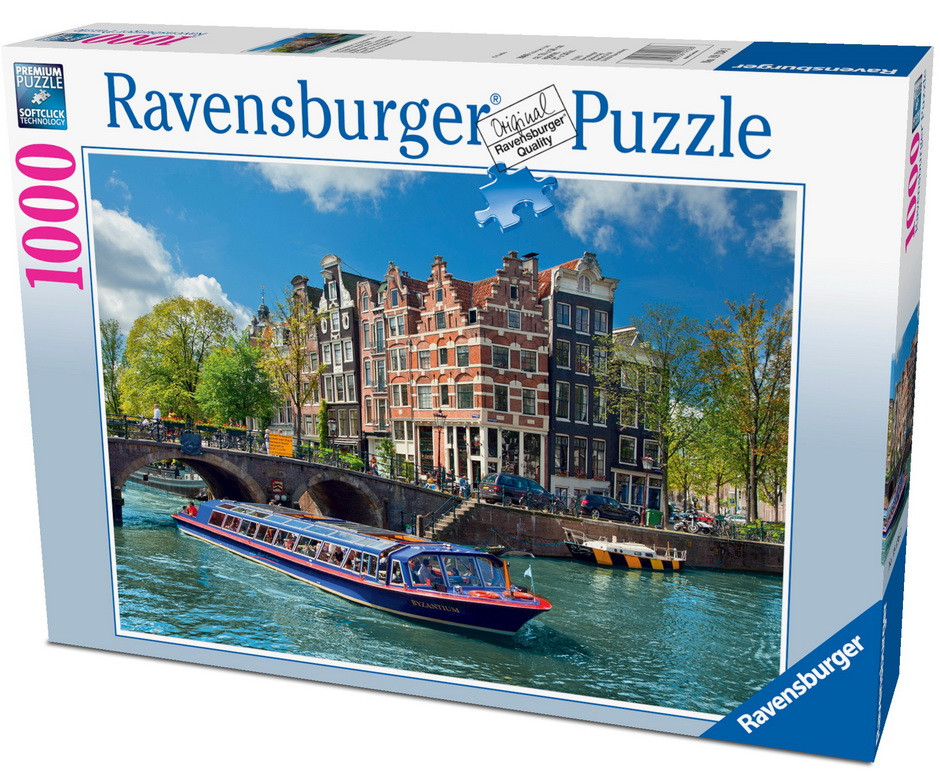 Ravensburger Canal Tour in Amsterdam Puzzle 1000pc