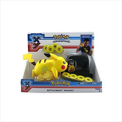 XY Pokemon Battle Ready Pikachu - Lightning Tail Attack Disc Launcher