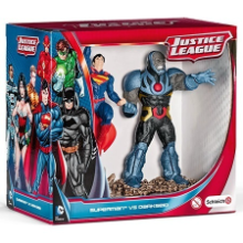 Schleich - Superman vs Darkseid Scenery Pack - Justice League