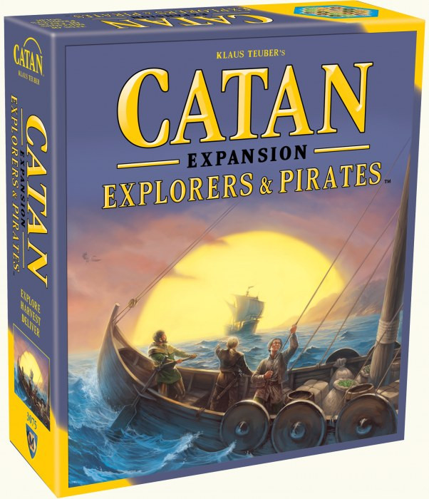 Settlers of Catan Explorers & Pirates