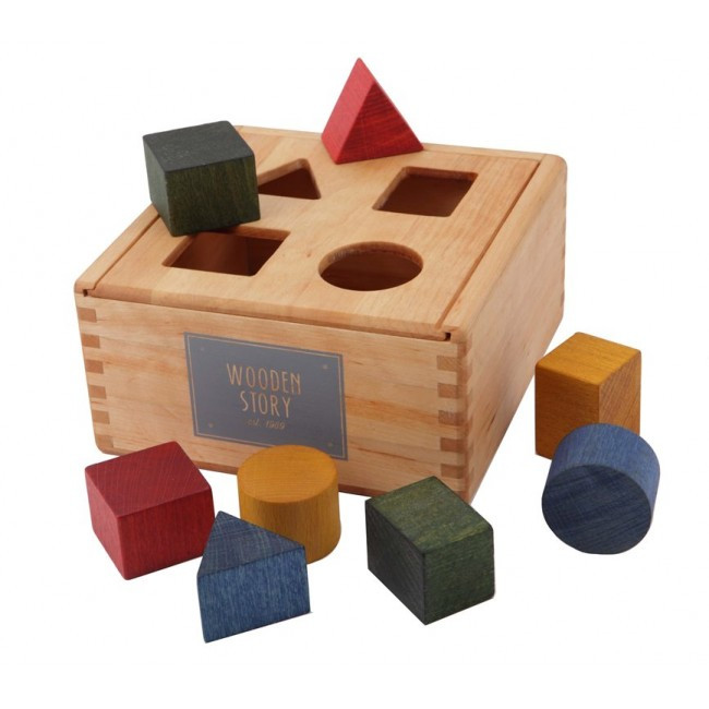 Wooden-Story-Shape-Sorting-Box