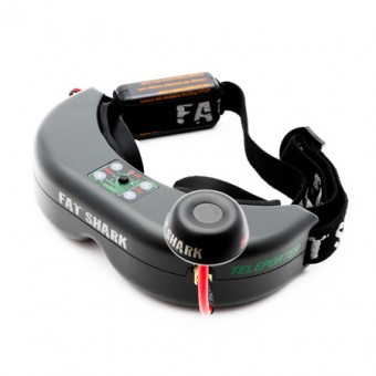 Spektrum Teleporter V4 FPV Headset Only
