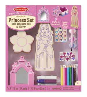 Melissa & Doug - Princess Set - DYO