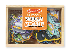 M&D - Vehicles Magnet - 20pc