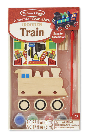 Melissa & Doug - Wooden Train - DYO