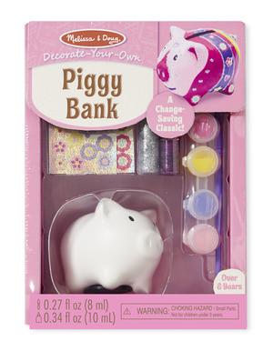 Melissa & Doug - Piggy Bank - DYO