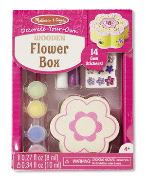 Melissa & Doug - Wooden Flower Box - DYO