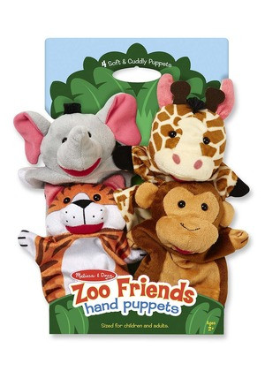 M&D - Hand Animal Puppets - Zoo